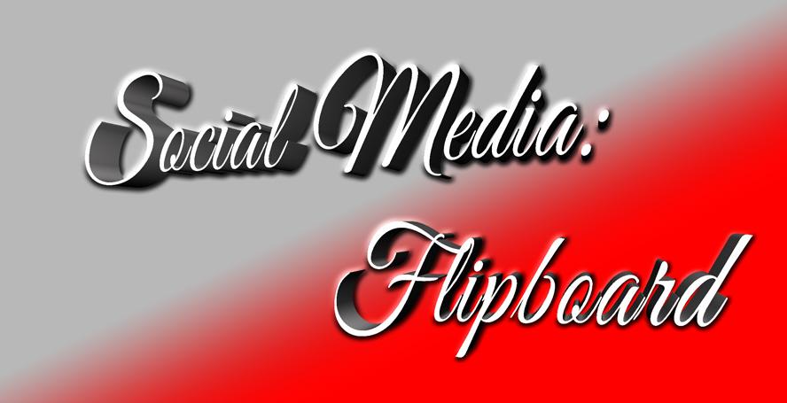Social media flipboard