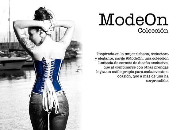 Coleccion ModeOn Tienda Corsets