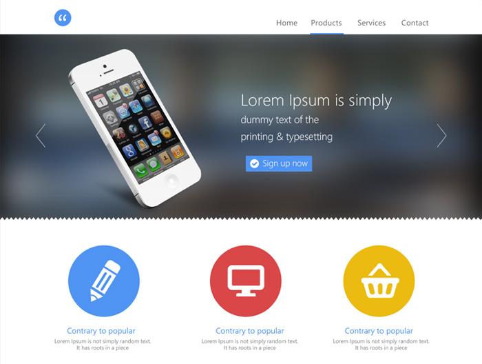 Temas y Templates para páginas Web