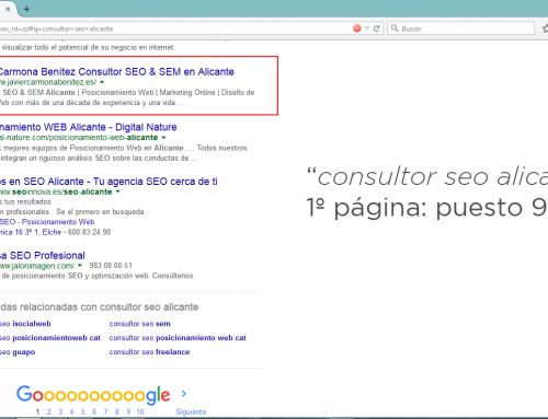 ¿El mejor Consultor SEO de Alicante?