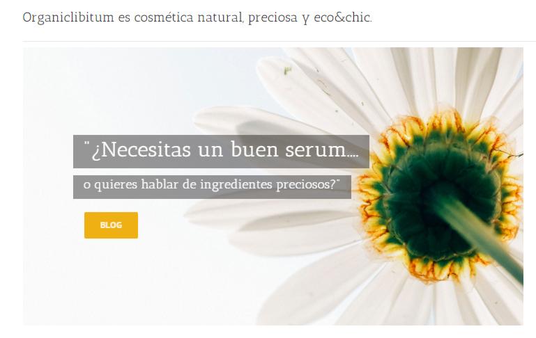 Tienda Online Cosmetica Organica