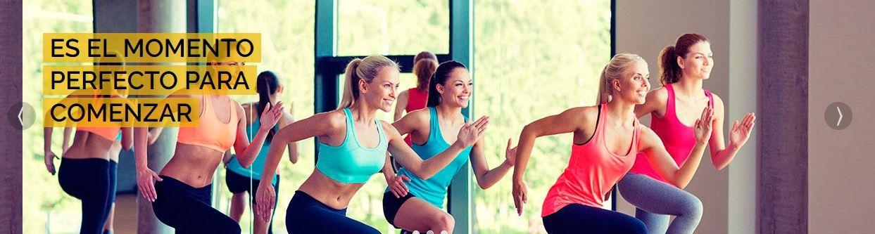 Página Web para un Centro Wellness con Gimnasio