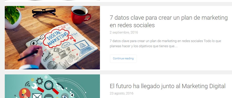 blog e commerce