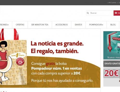 Tienda Online de infusiones y Tés en Prestashop – Campaña SEO