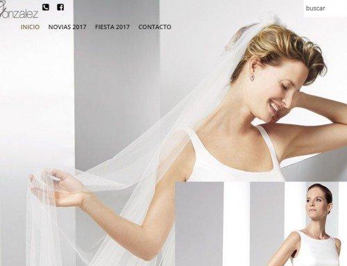 Web de vestidos para bodas y fiestas en Alicante