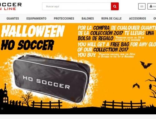 Tienda Online de fútbol y ropa deportiva