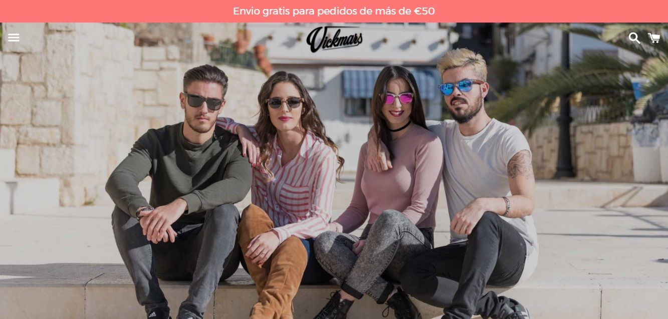 Tienda Online para gafas de sol de madera