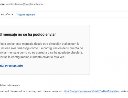 Solución a problemas de envíos de correos en Gsuite con cuentas de Gmail